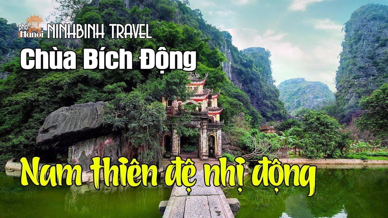 Độc nhất vô nhị ở Ninh Bình Chùa Bích Động chùa trong hang động #hnp