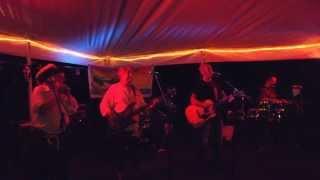 Chris Sacks band performing Margaritaville