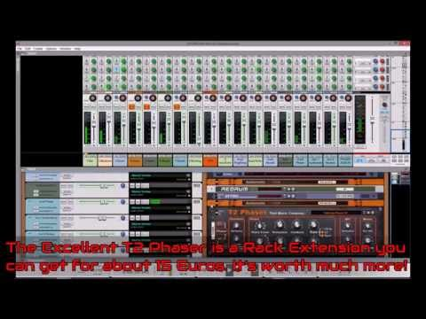 Reason 8.0 In Dub Video 1: Action Rack Extension