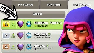 WE ARE #1!! NOOB Turns PRO In Clash Of Clans!