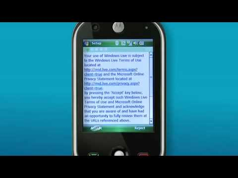 How to - Setup webmail on your Motorola A3100 connected to Telstra