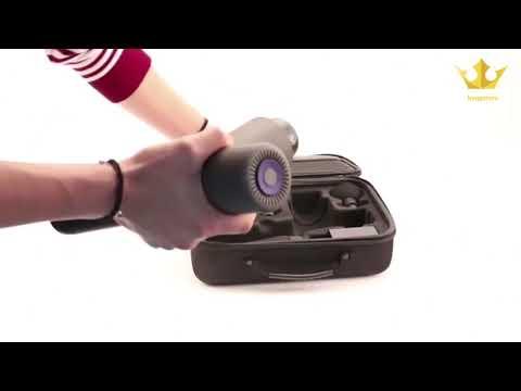 PT PRO Handheld Deep Tissue Massage Gun by Kyng Fitness