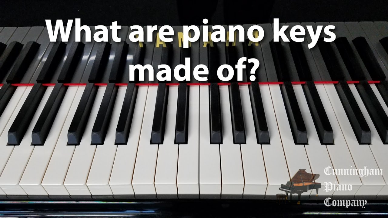what are piano keys