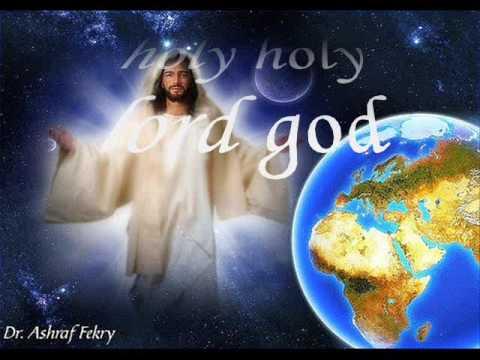 holy holy lord God