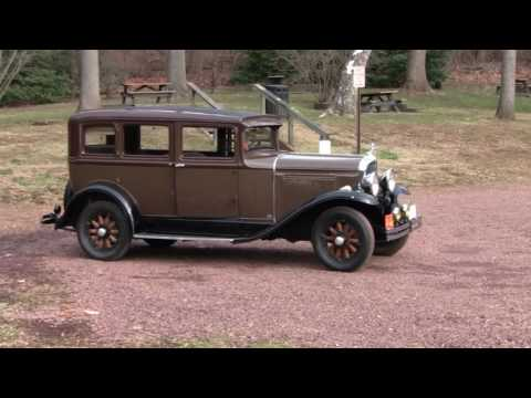 CRUISING IN A RARE 1930 OAKLAND AUTOMOBILE