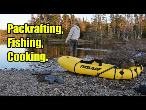 Packrafting, Fishing, And Cooking.