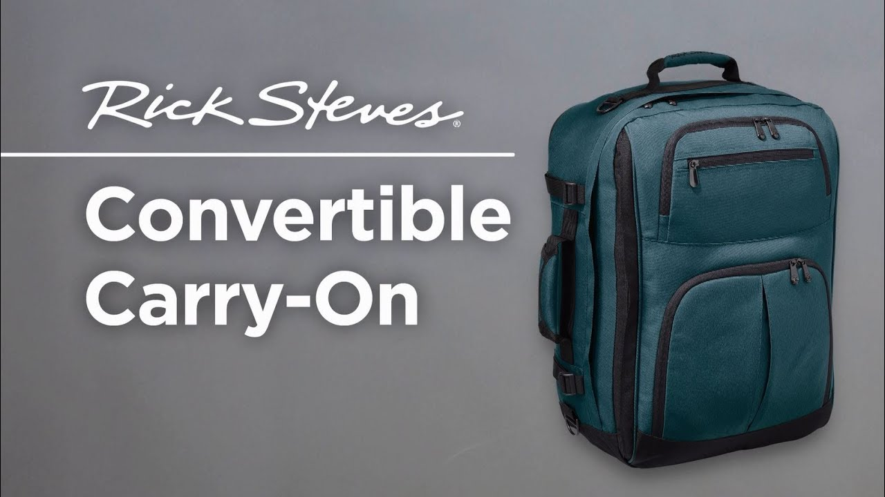 Rick Steves Convertible Carry On