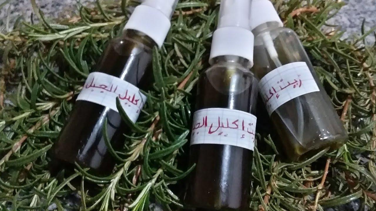 اكليل الجبل للشعر طريقة تحضير زيت الازير في البيت Rosemary Oil At Home Youtube