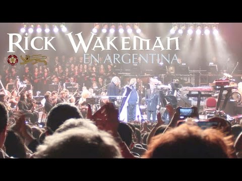Rick Wakeman - Journey to the Centre of the Earth - Argentina 2014