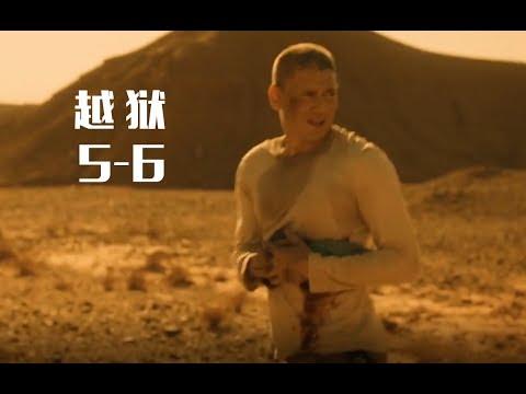 越狱精彩的沙漠戏,迈克尔智斗独眼龙,重伤昏迷岌岌可危!