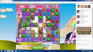 Candy Crush Level 1096 No Boosters 3 Stars