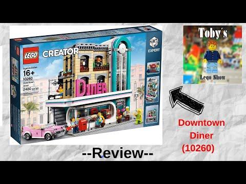 Das Set mit Elvis Presley! - LEGO Creator Expert Downtown Diner - Review (18+)