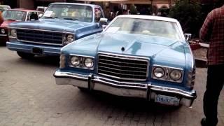 Evento Del Auto Antiguo En San Felipe Guanajuato