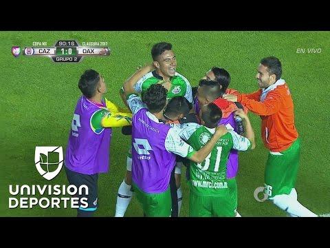 Golazo de Rolando González y Alebrijes le empató el juego a Cruz Azul