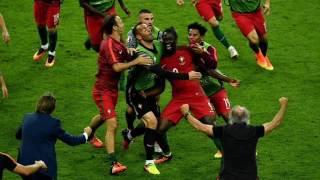 Portugal 1-0 França | Relato do Golo e Apito Final | Euro 2016 | Desporto Na Hora