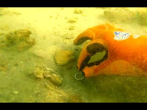 Metal detecting UNDERWATER ...My last year's BEST FINDS: GOOOOLD!