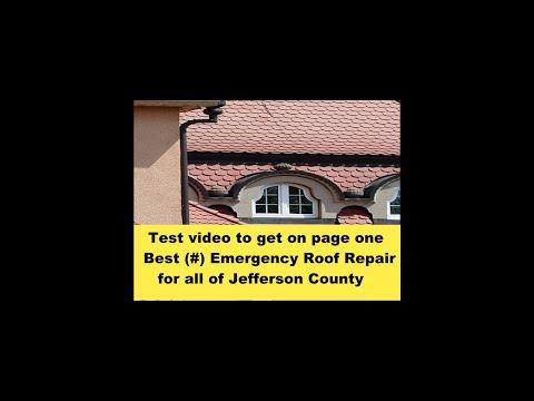 Best Sylvania Springs Emergency Roof Repair