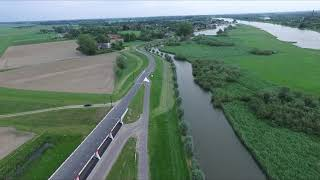 Hoogwater geul Veessen-Wapenveld