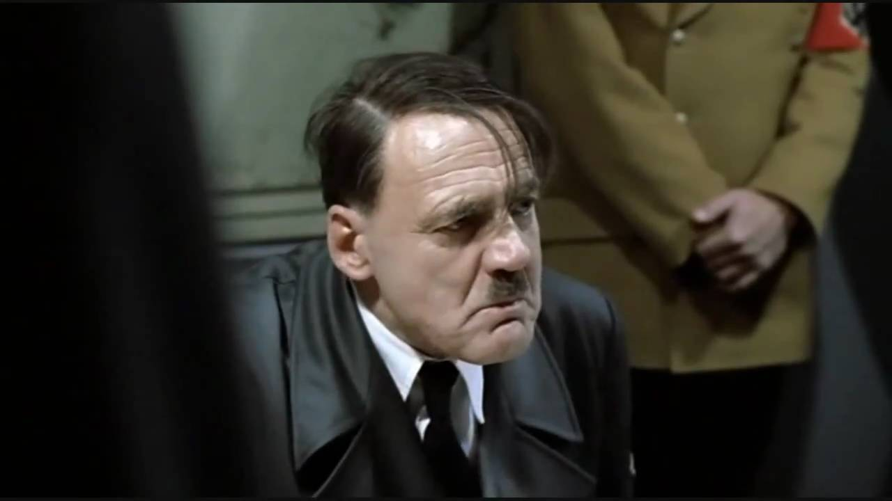 Hitler rants about Downfall