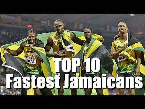 Top 10 Fastest Jamaicans of All Time (100m)