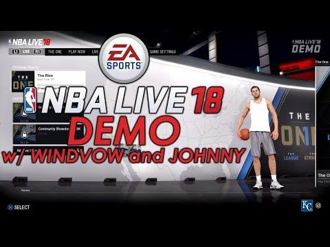 Im Done Shooting - NBA Live 18 Demo