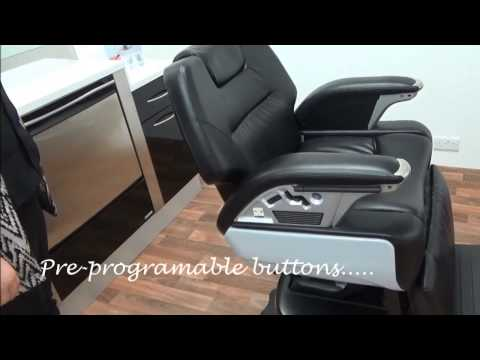Watch Our Short Demo On How To Use The Regalo II Barber Chair