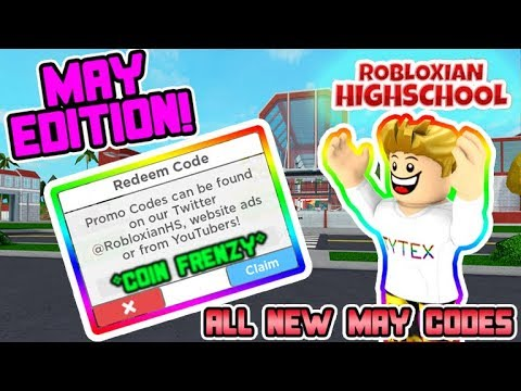 May Codes Robloxian Highschool All New Codes Build Update