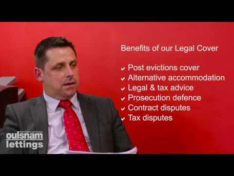 Oulsnam Lettings Rent & Legal cover (Plus policy)