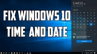 How To Fix Computer Date and Time Keeps Changing in windows 10