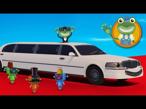 Leo The Limousine Visits Geckos Garage  Cars For Kids