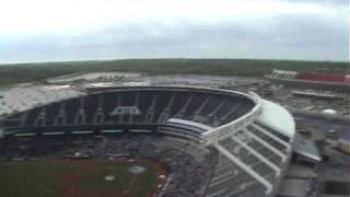 Jumping into Kansas City Royals Stadium