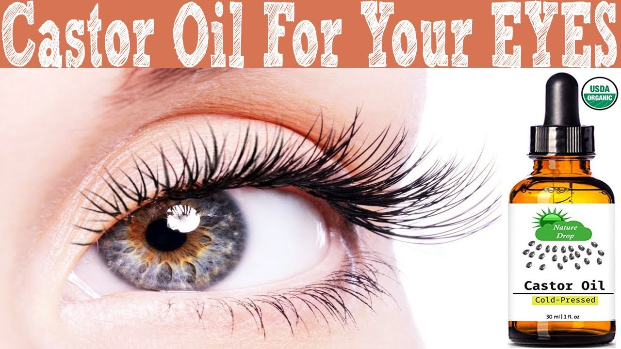 Instructions for use of castor oil for the skin of a different type