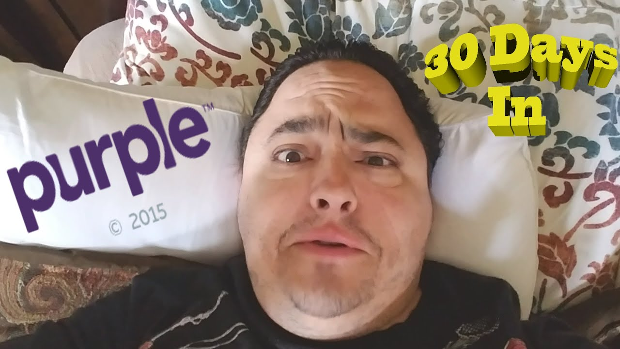 purple mattress 30 days in youtube. Black Bedroom Furniture Sets. Home Design Ideas