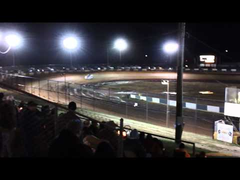 Randy Weaver Qualifying at Green Valley Speedway 2012 Bama Bash