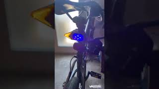 VASTFIRE Bike Tail Light with Turn Signals