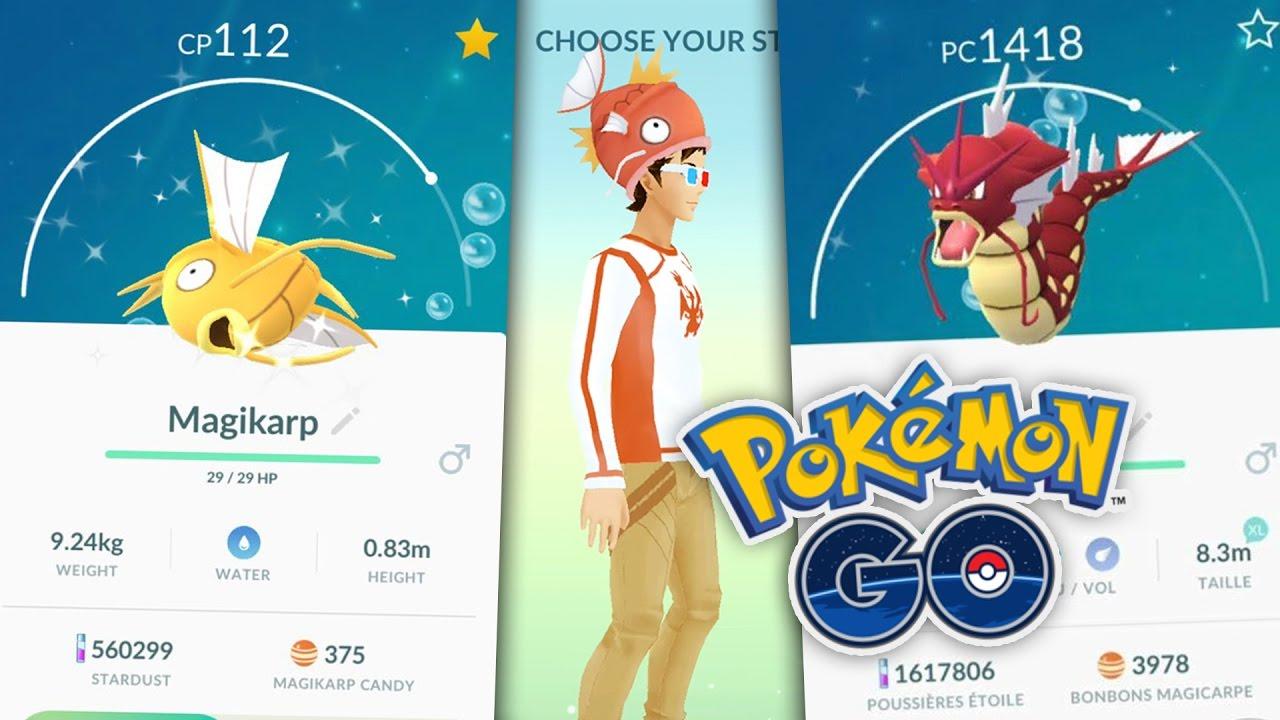 Image result for shiny magikarp in pokemon go