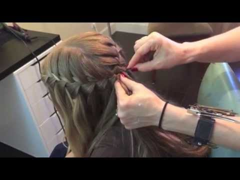 How to Do Waterfall Braid
