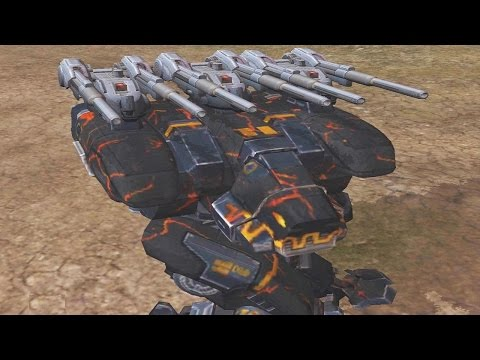 War Robots [2.8] Test Server - NEW Heavy Machine Gun Weapon Preview