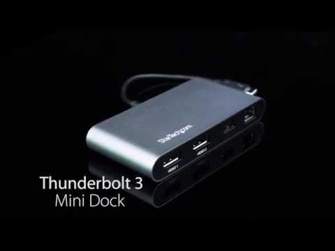 Mini Thunderbolt 3 Dock | StarTech com Canada