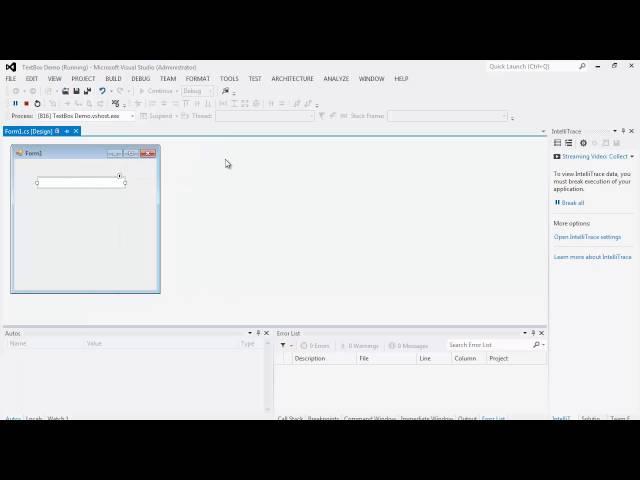 41. برمجة الواجهات - مربع النص TextBox