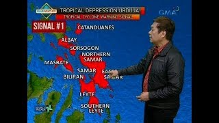 UB: Weather update as of 6:07 a.m. (December 14, 2017)