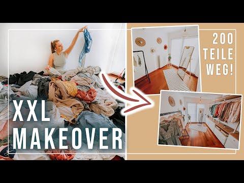 Ich verwandle mein Kleiderzimmer-Chaos in eine Boutique! 💥😍 #KatistrophenBeseitigung