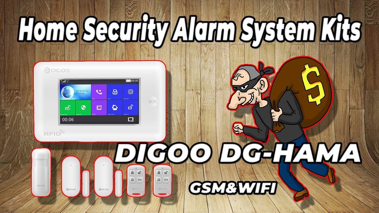 | UNBOXING | DIGOO DG HAMA Home Security Alarm System