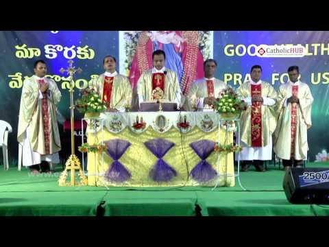 """""""ANNUAL FEAST"""" Naveena Day 4 from Shrine of Our Lady of Health, Khairatabad,Tg,INDIA.02-09-16.HD"""