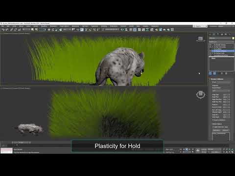 Ornatrix V2 Beta for Maya - Realtime Collision & Oscillation