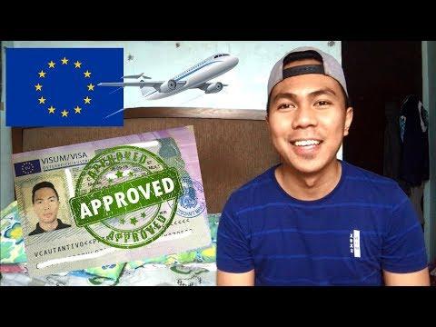 PAANO BA MAKAKUHA NG SCHENGEN VISA (Visiting Family/Friend Visa) - Austria Trip