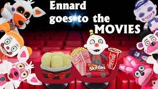 Fnaf Plush-Ennard Goes to the MOVIES!!!