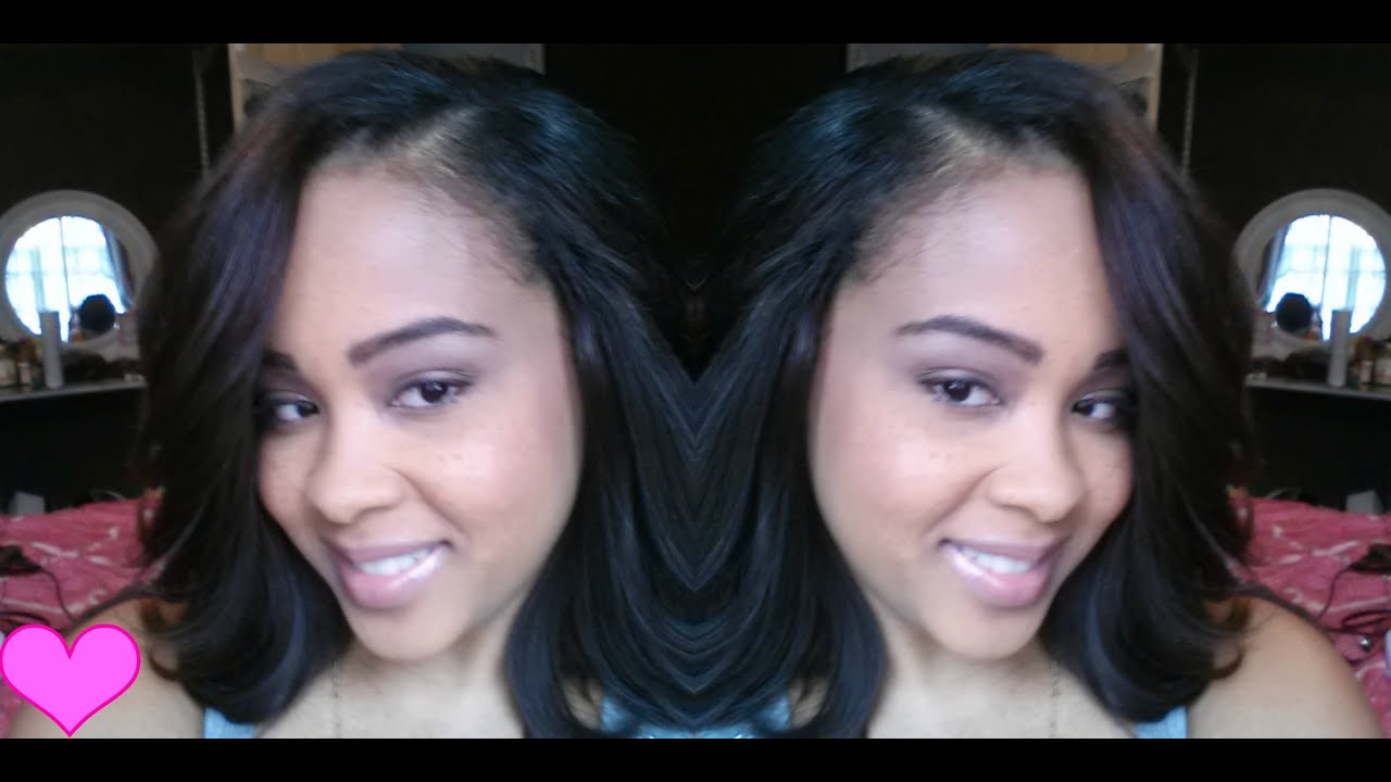 Cut Amp Style My Sew In Weave Bob Hair Extensions Protective