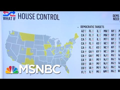 What Will It Take For Democrats To Pull Off A 'Blue Wave' Tomorrow?   Velshi & Ruhle   MSNBC