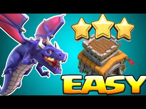 How To Dragon Attack TH8 Guide in 2017 | Easy 3 Star Dragloon Attack Strategy | Clash of Clans